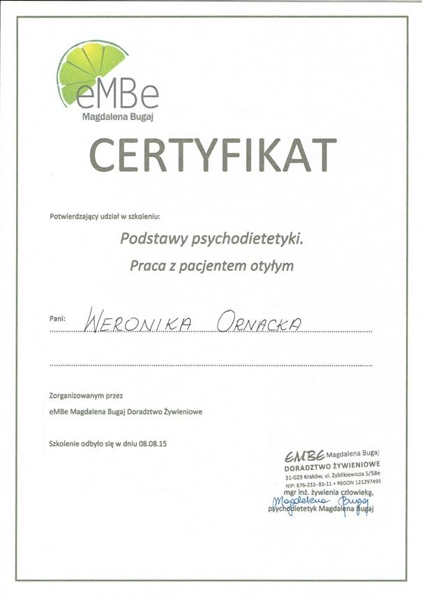 Skuteczny Psychodietetyk Kraków