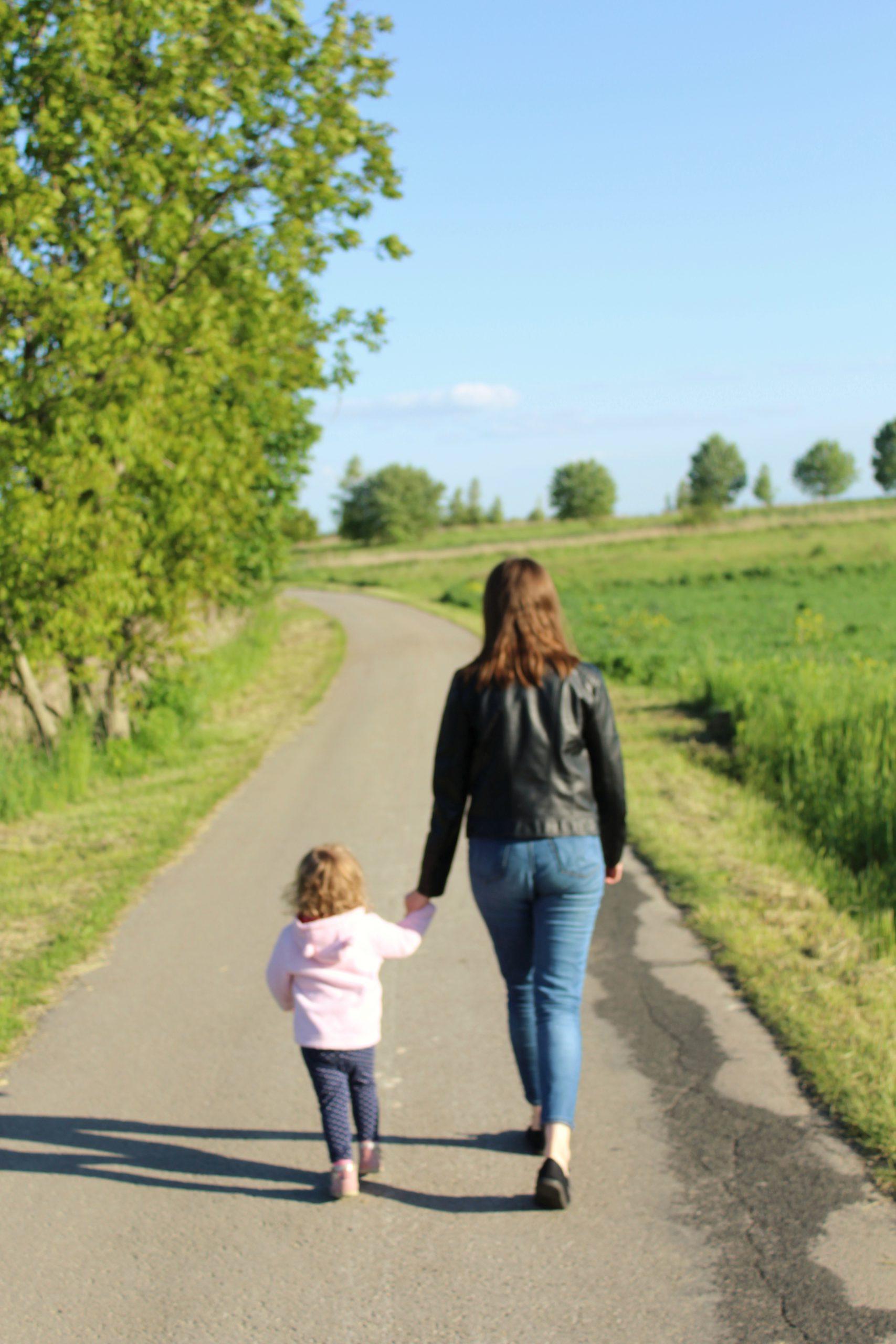 Ja z córką