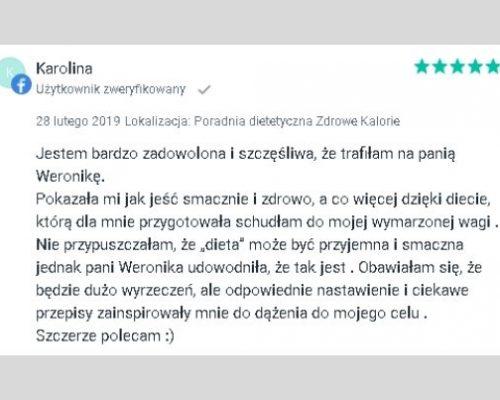 Opinie - dietetyk Kraków 1
