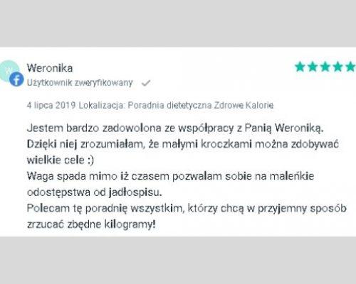Opinie - dietetyk Kraków 2