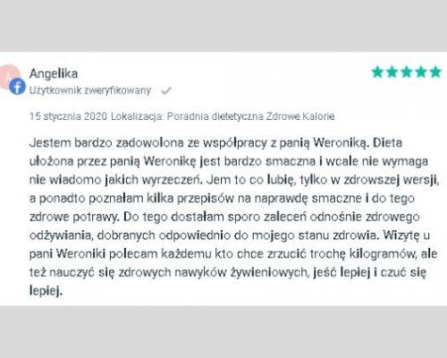 Opinie - psychodietetyk Kraków 8