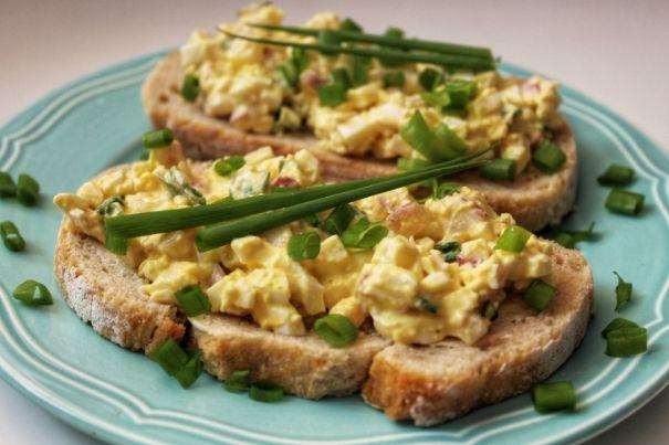 Pasta jajeczna z majonezem na diecie